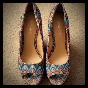 Shoes/ wedge heels